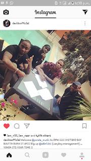 "Davido Signed New Artist ""Yonda"""