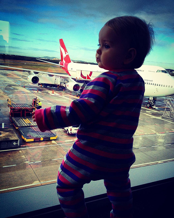 """""""She was really well behaved"""" - 1-Year-Old Has Been Travelling Around The World Since She Was Born"""