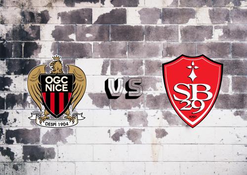 Nice vs Brest  Resumen