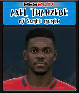 PES 2017 Faces Axel Tuanzebe by Sameh Momen