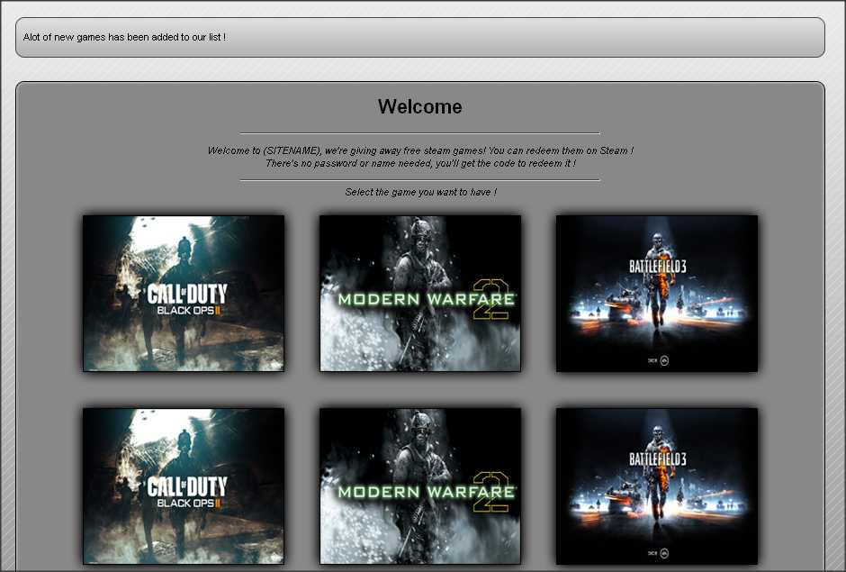 Free Steam Games PPD CPA Template | Fileice Niche | Free