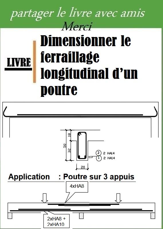 Dimensionner le ferraillage longitudinal d'un poutre pdf