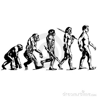Funny Picture Clip: Human Evolution, and Behavioral