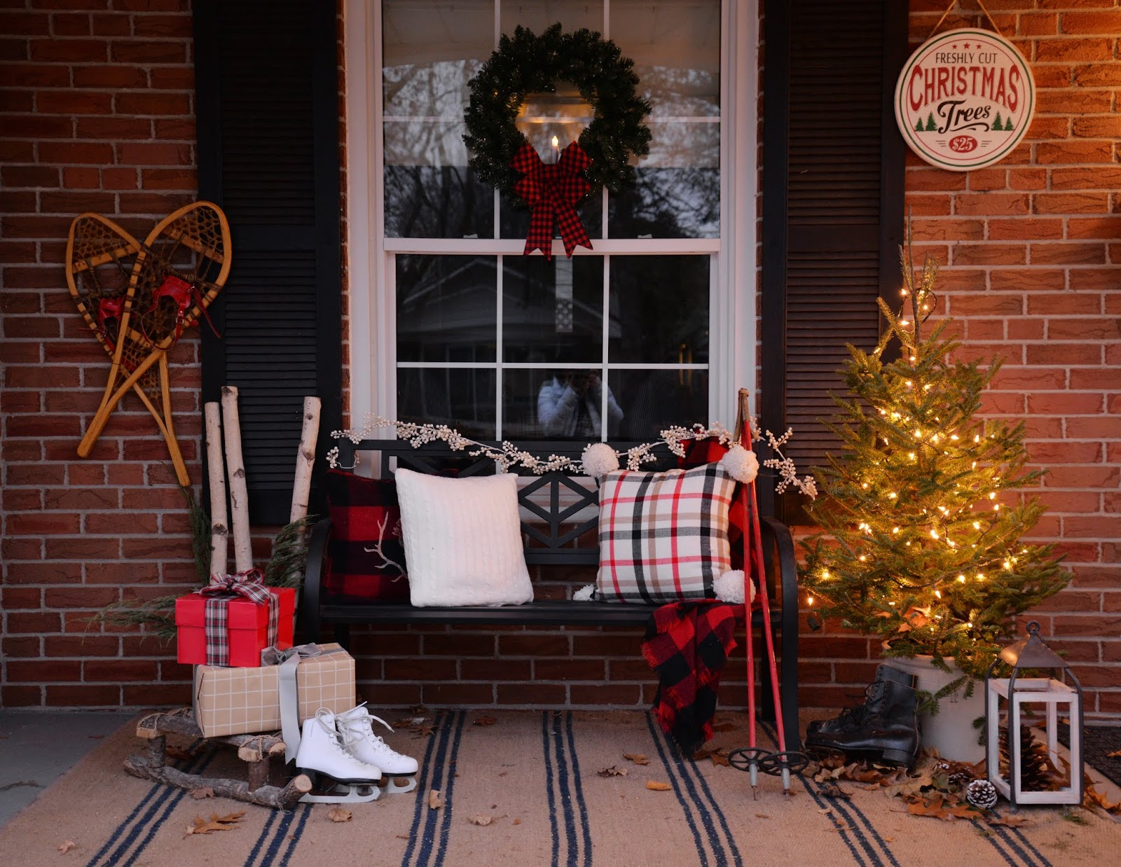 7 Outdoor Christmas Decorating Ideas Rambling Renovators