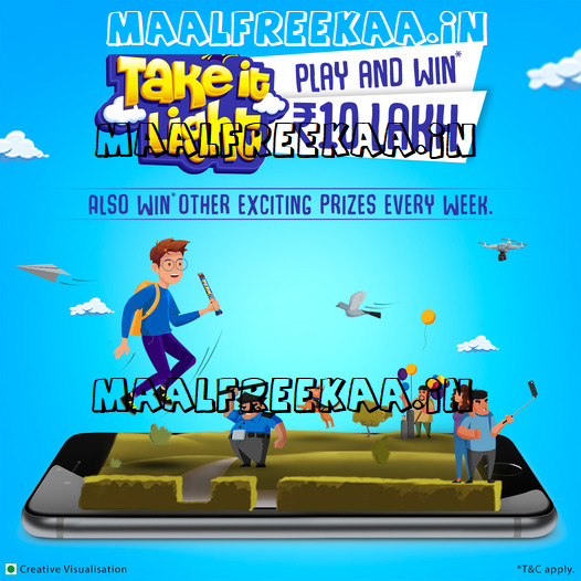 Play Game and Win Prize Worth Rs 10 Lakh