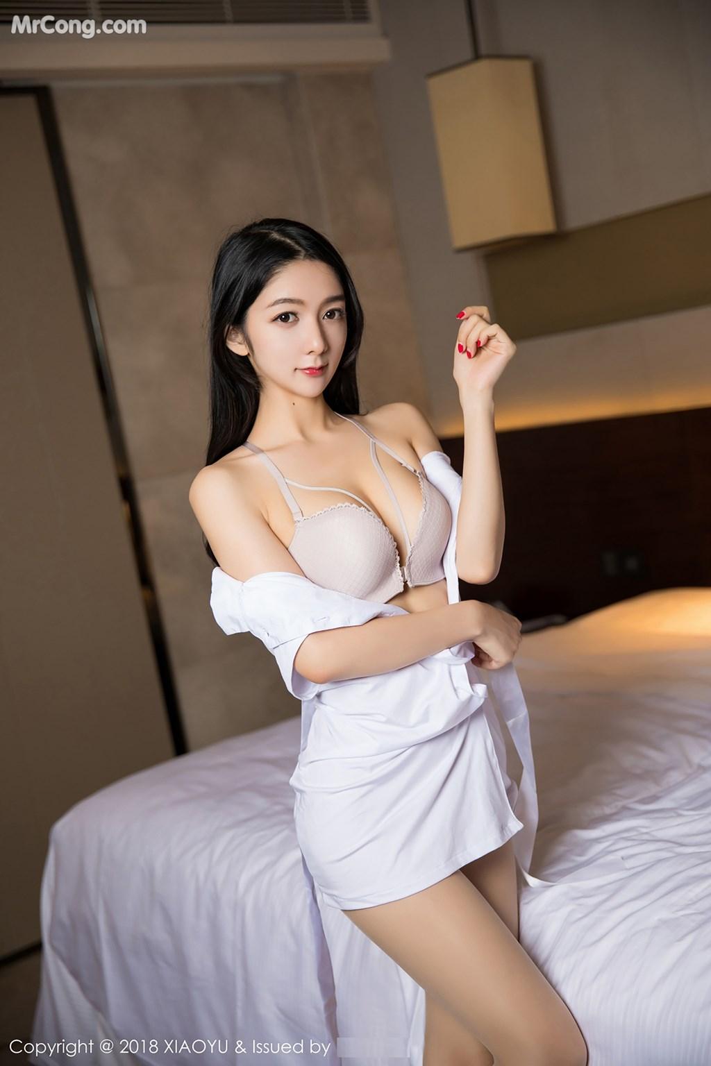 XiaoYu No.004: Người mẫu Xiao Reba (Angela喜欢猫) (60 ảnh)
