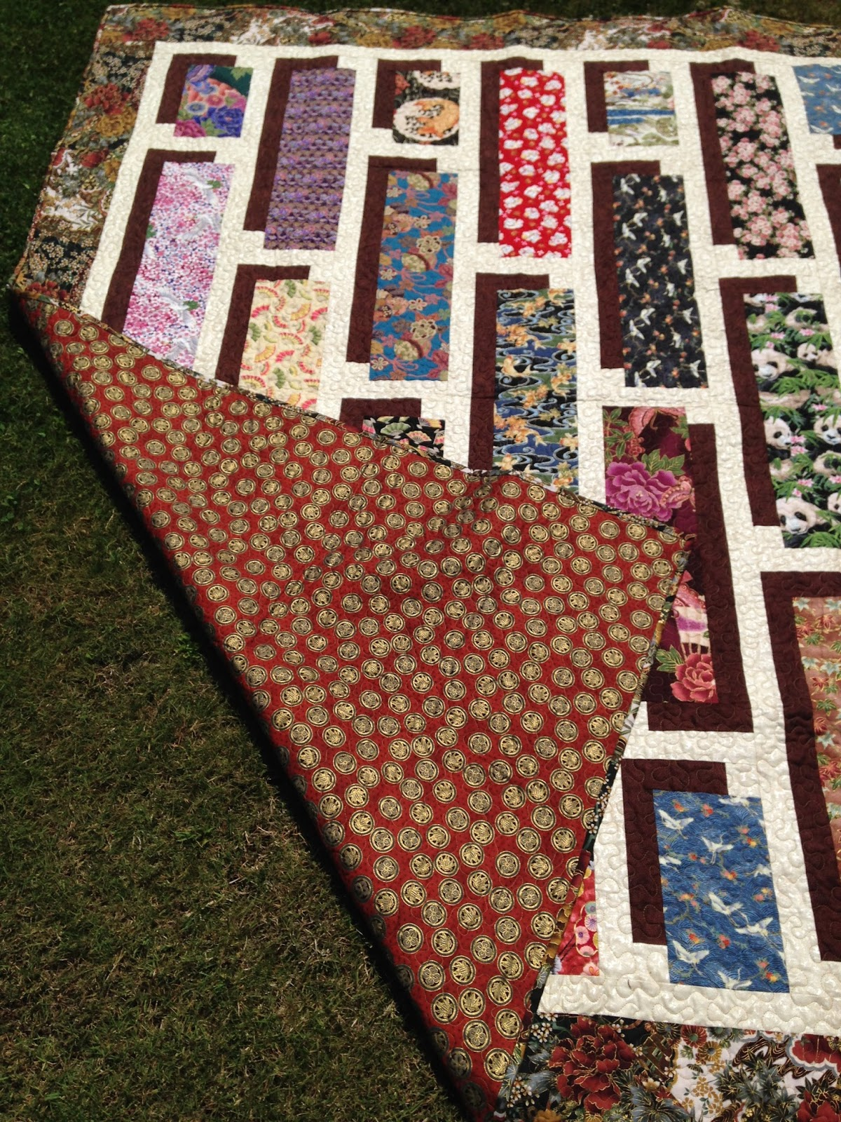 Wren S Nest 2016 Finished Quilts Asian Shadow Box Quilt 9