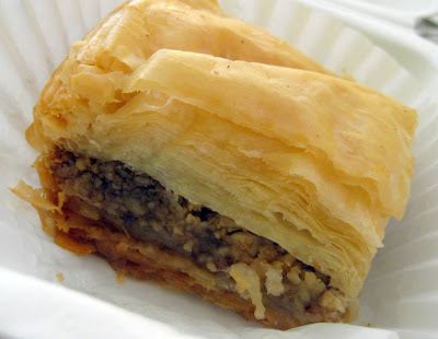 Baklava at Olive Branch Restaurant in Bethlehem, PA - Photo by Taste As You Go