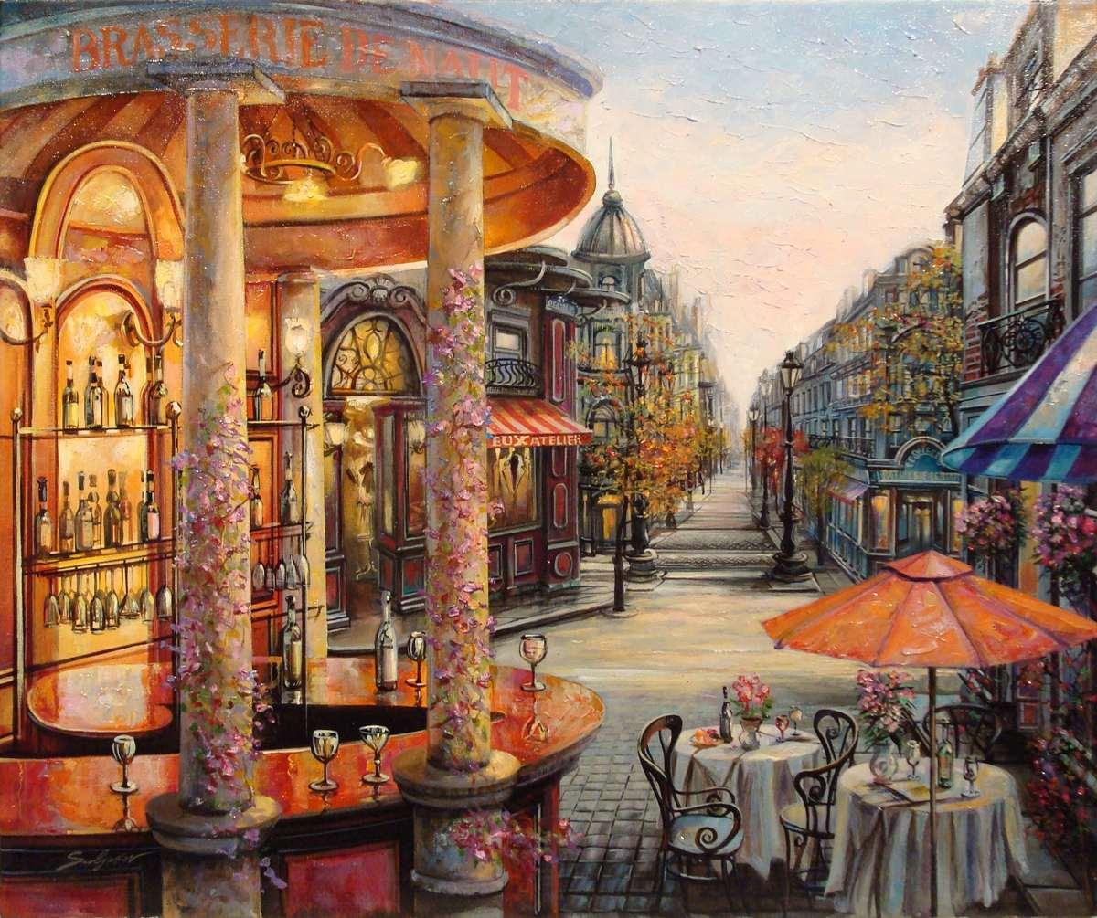 Vadim suljakov 1960 urban landscape painter tutt 39 art for Art of russian cuisine