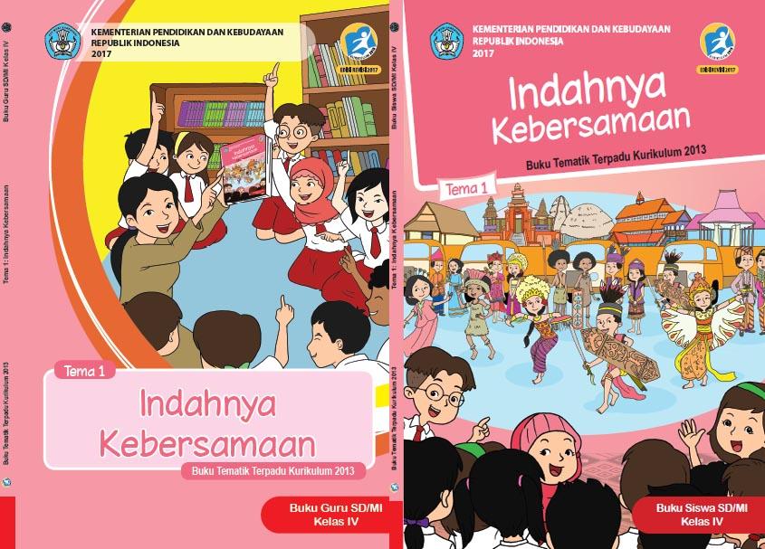 Buku Tematik Terpadu Kelas 4 Kurikulum Edisi Revisi 2017