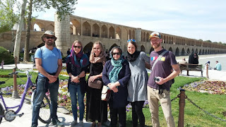 Uppersia and our knowledgeable tour guides hold a three-hour walking tour of popular areas in Isfahan. This Tour runs every day at 14:00, leaving from Khaju Bridge. You just need to contact us to book a tour. Whether you're traveling solo or with a small group, there's sure to be a tour guide guide who can accommodate you