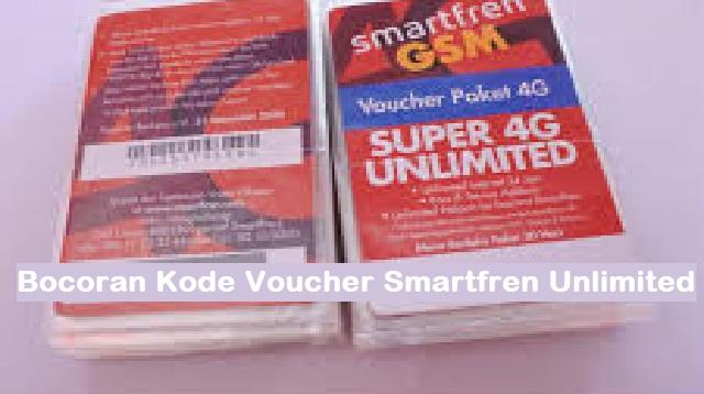 Bocoran Kode Voucher Smartfren