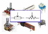 Mengenal Komponen Resistor Variabel