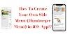 Implement Your Own Side Menu (Hamburger Menu) Swift 5.2  Xcode 11