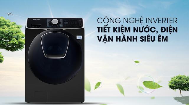 Máy giặt Samsung WD19N8750KV/SV