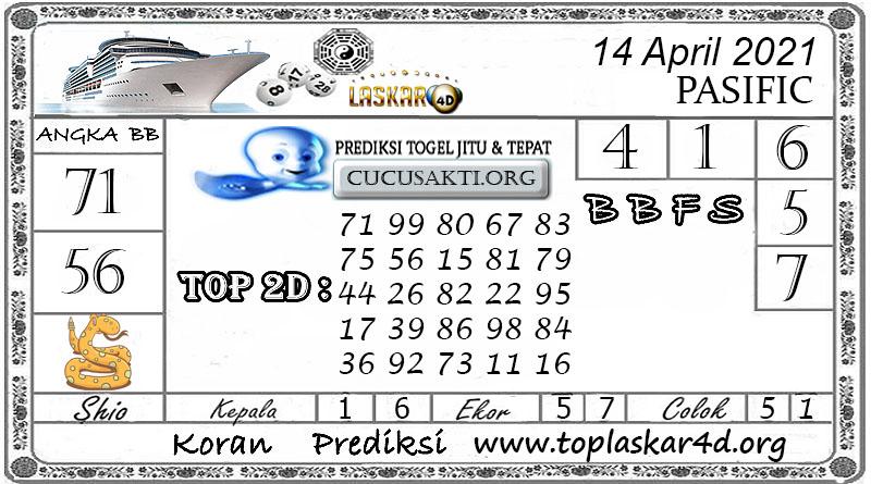Prediksi Togel PASIFIC LASKAR4D 14 APRIL 2021