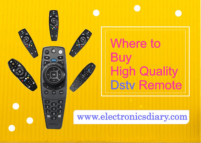 buying a new dstv remote