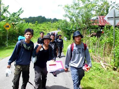 Kuliah Lapangan Geologi Struktur, Daccipong, Kabupaten Barru