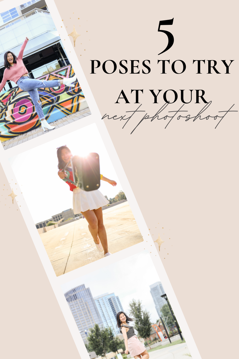 5 poses to try out at your next photoshoot | how to pose for photos
