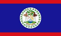 Logo Gambar Bendera Negara Belize PNG JPG ukuran 200 px