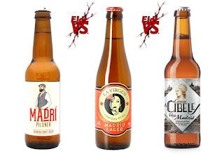 "Cata comparativa de Cervezas ""Madrileñas"""