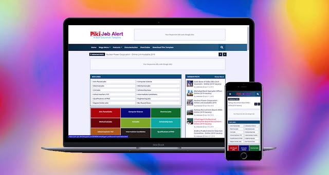 piki-job-alert-blogger-template