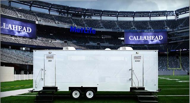 Portable Toilet Trailers - The Professional