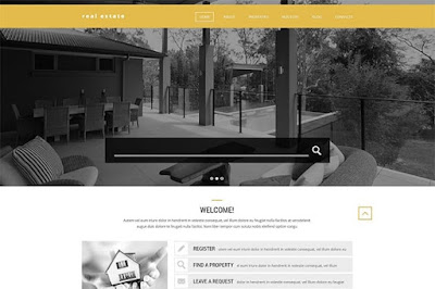 Stylish Real Estate WordPress Theme