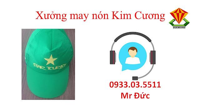 May nón lưỡi trai, nón du lịch số lượng lớn tại Bạc Liêu