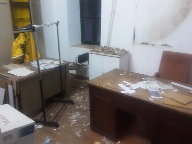 """Τ.Τόκας: """"Καταρρέει"""" το κτίριο Συγγρού στα Δίδυμα"""