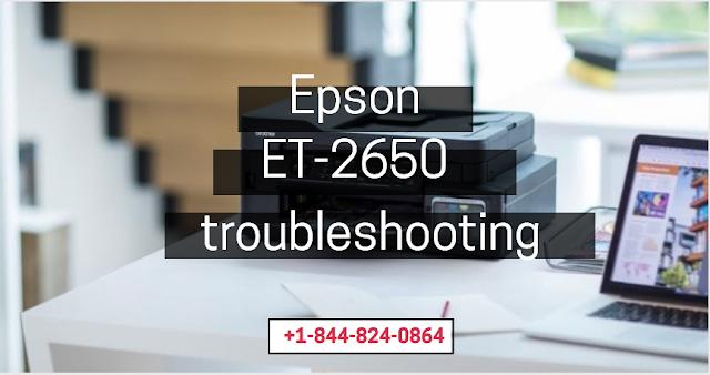 Epson ET-2650 troubleshooting