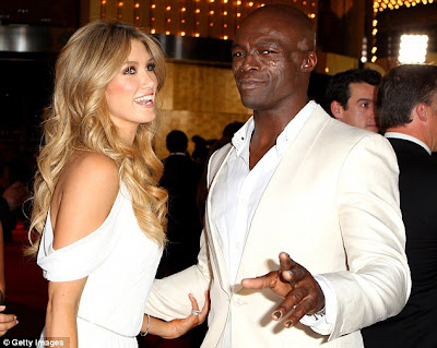 Singer Seal Spotted With New Girlfriend,Delta ... Kanye West Africa