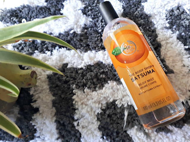 The Body Shop Satsuma Body Mist Review