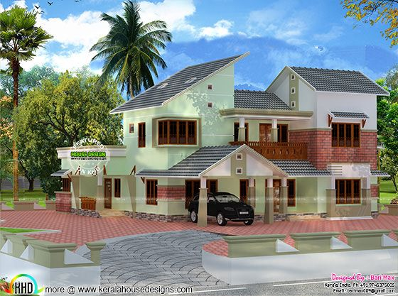 Luxury 5 bedroom attached home