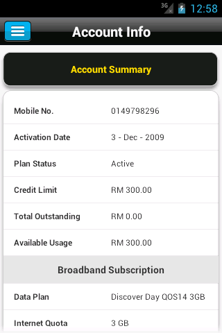 MyDigi and MyMaxis Android apps | The 8th Voyager