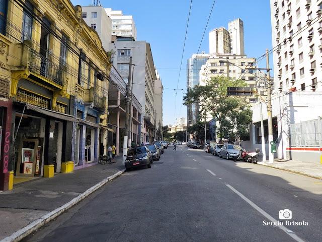 Vista de trecho da Rua Marquês de Itu - Vila Buarque / Bairro de Higienópolis - São Paulo