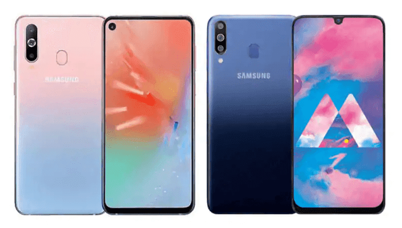 Samsung Galaxy A40s and A60