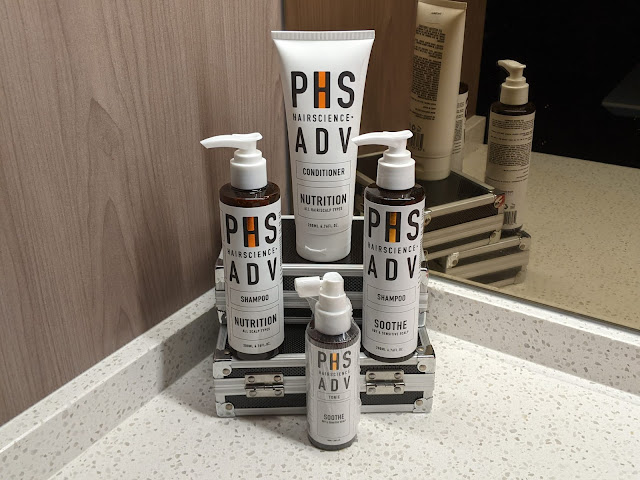 PHS Hairscience ADV Soothe Daily regime