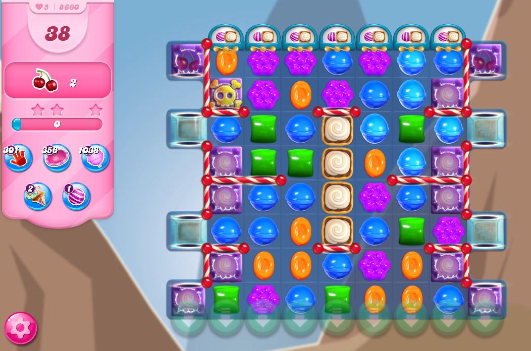 Candy Crush Saga level 8660
