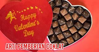 Arti pemberian Coklat saat Valentine Yang Harus Kalian Ketahui