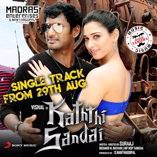 Kaththi Sandai HQ Mp3 Song Tamil Downloads,