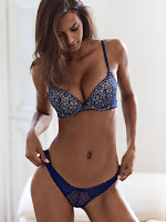 Lais Ribeiro sexy model photo shoot Victoria's Secret Lingerie