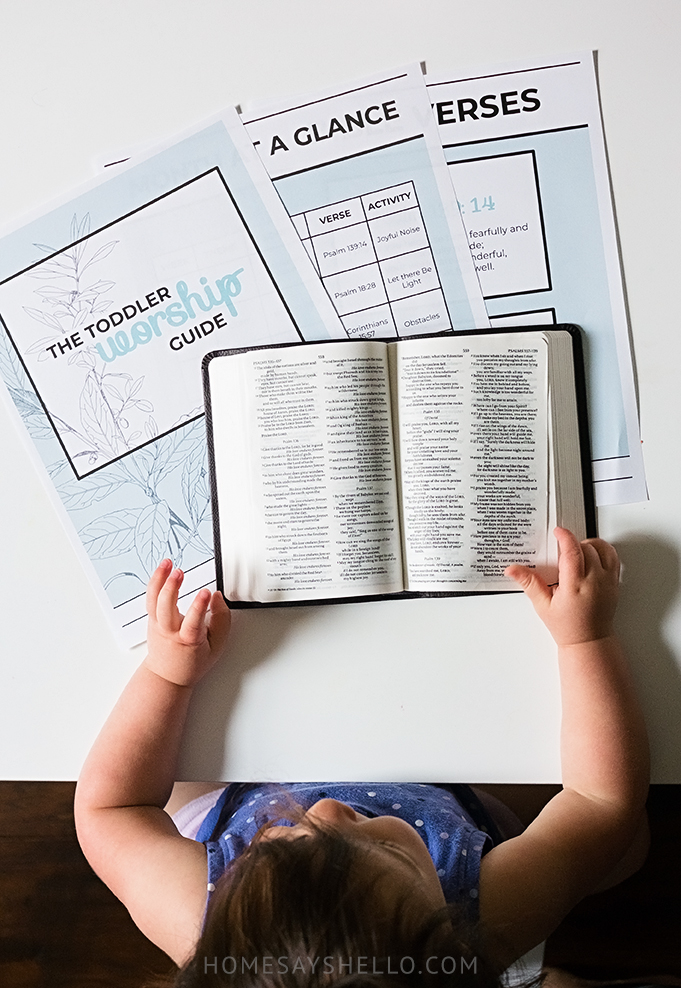 Family Devotions for Toddlers