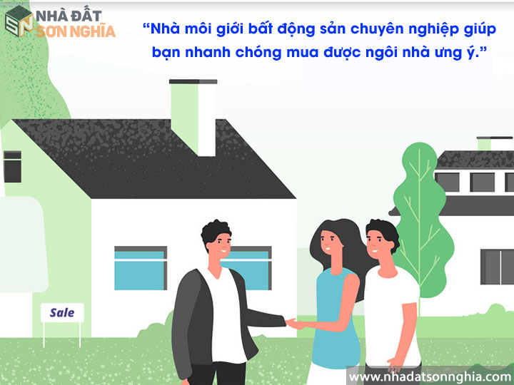 Hợp tác nhà môi giới bất động sản chuyên nghiệp giúp nhanh chóng mua nhà