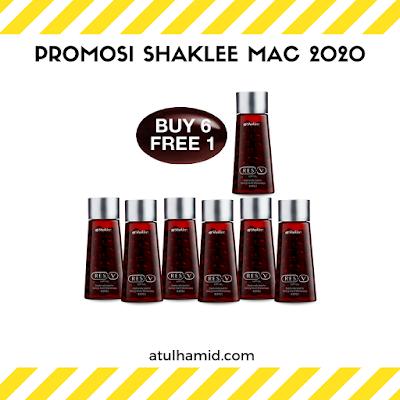 Promosi Shaklee Mac 2020