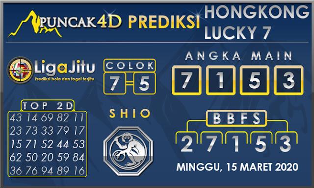 PREDIKSI TOGEL HONGKONG LUCKY7 PUNCAK4D 15 MARET 2020