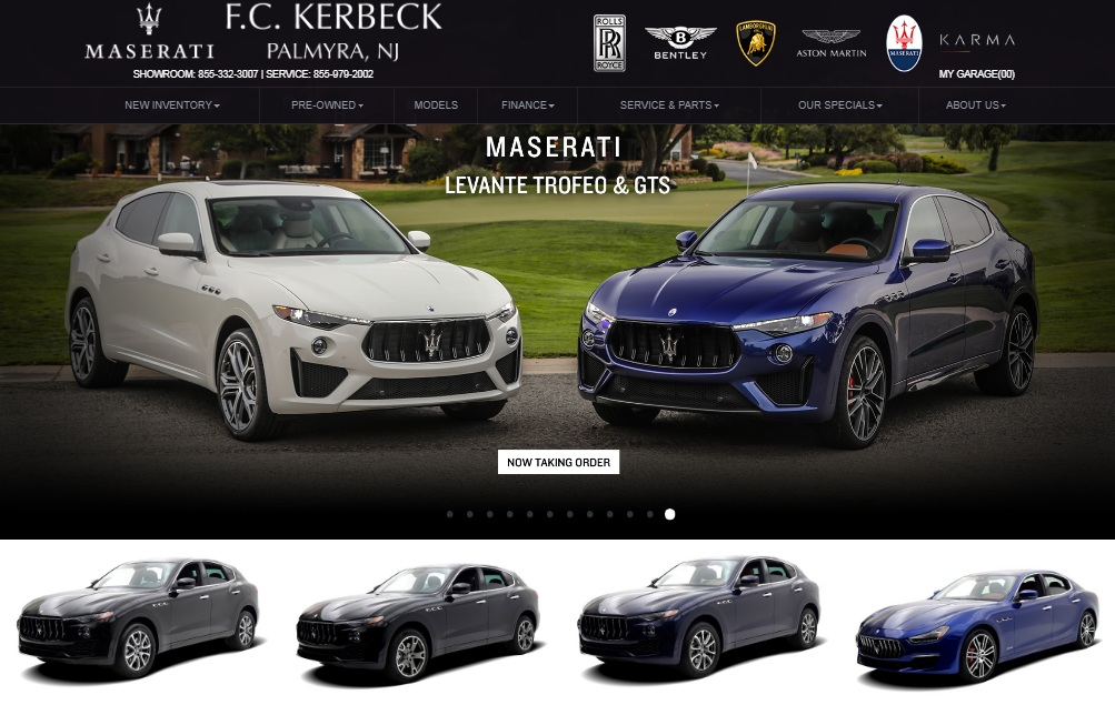 Fc Kerbeck Maserati Dealership, Sales, & Service