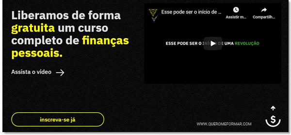 Inscreva-se Curso Online de Finanças Pessoais GRATUITO Com Certificado de Conclusão pela Escola Conquer