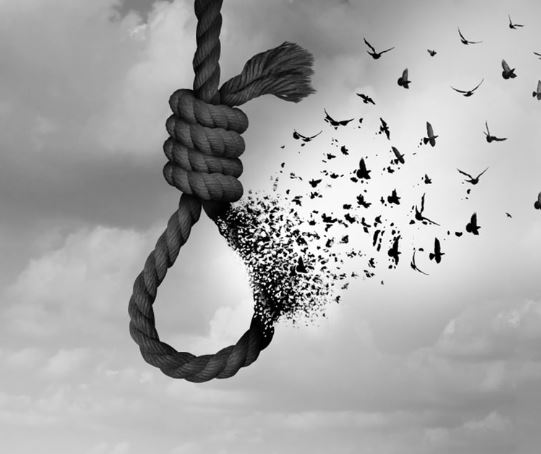 البلدان التي لديها أعلى معدلات الانتحار