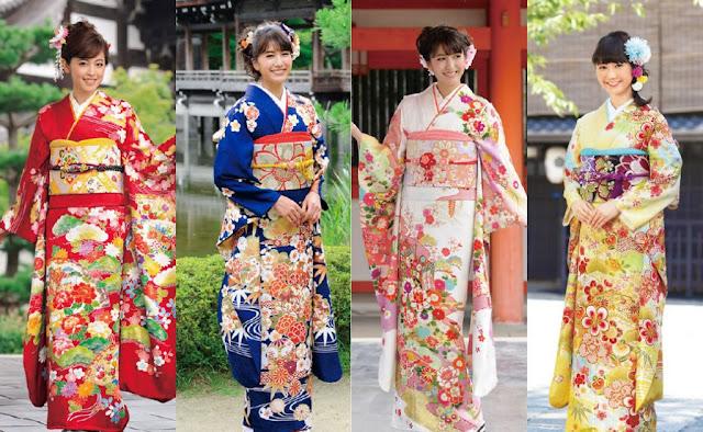 furisode kimono girl